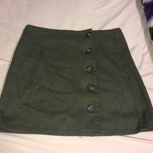 Cute Military Green Mini Skirt! NEVER BEEN WORN!!!